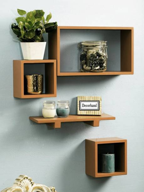 Decorhand SCFP -714 Wooden Wall Shelf