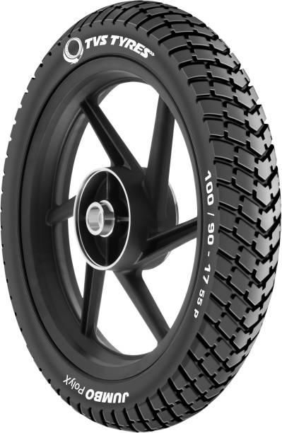 TVS TYRES JUMBO POLYX 100/90-17 Rear Tyre