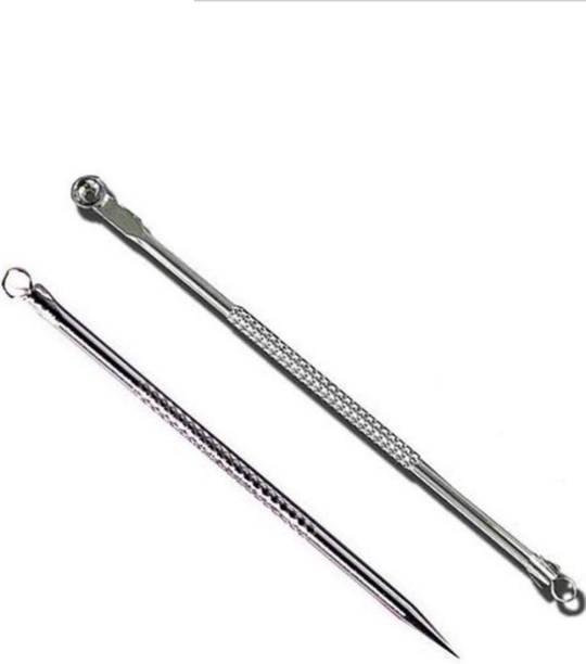 ayushicreationa Stainless Steel Blackhead Remover Needle