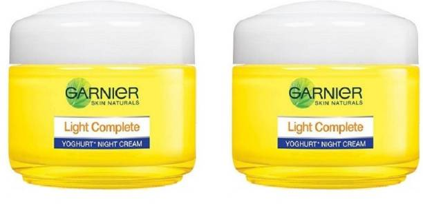 GARNIER Light Complete Night Cream Pack of 2 40gm