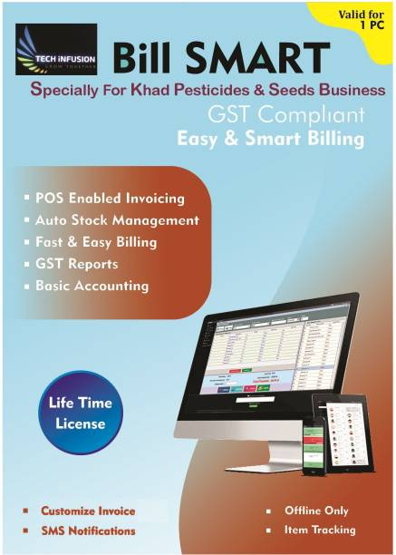 Bill Smart Billing Invoicing Software For Khad Pesticides & Seeds Business