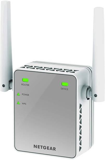 NETGEAR EX2700 N300 Wi-Fi Range Extender (White) 300 Mbps Router