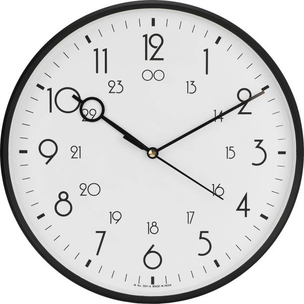 Precisio Analog 31 cm X 31 cm Wall Clock