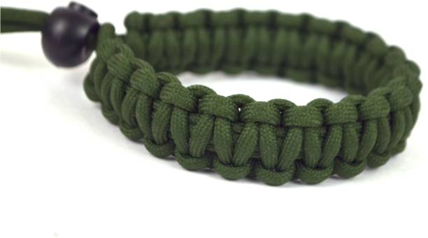 Paracraft Paracord Wrist Strap for robust hand grip to hold all DSLR camera/heavy gear/Binocular-Mgreen Strap