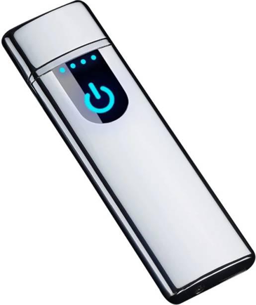 GREYFIRE Ultra Thin USB Charging Lighter Touch Sensing Cigarette Lighter