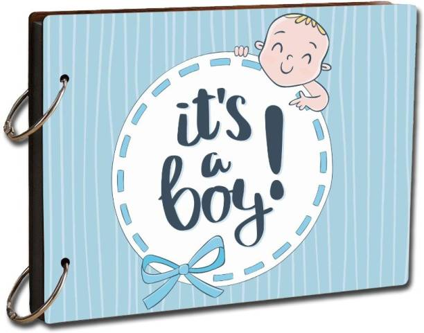 khirki Kids Babies Craft Picture Scrapbook Photo Book Its A Boy Travel Diary Photo Album