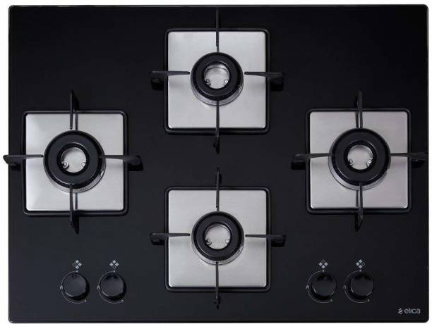 Elica FLEXI HCT 470 DX LOTUS BK Hob Stainless Steel Automatic Hob
