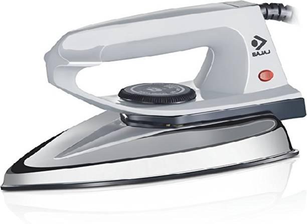 BAJAJ DX 2 600-Watt Light Weight Dry Iron (Grey) 600 W Dry Iron