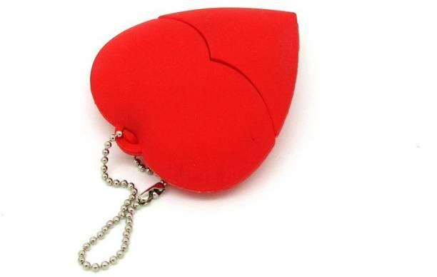 PANKREETI Red Heart 32 GB Pen Drive
