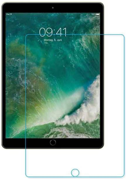 Kelfo Tempered Glass Guard for Apple Ipad Pro 10.5 (2017) Screen Guard Scratch Protector