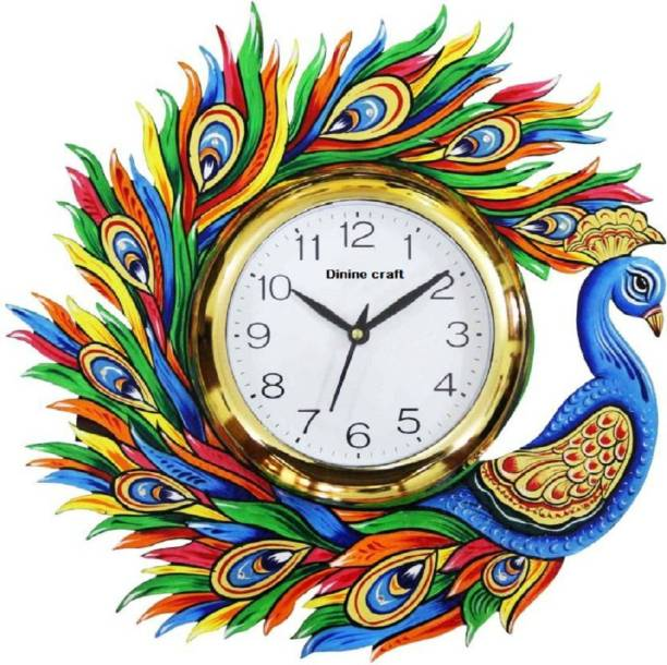 World Craft Analog 35 cm X 5 cm Wall Clock