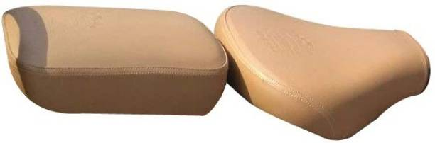 Sahara Seats Classic 350/500/Chestnut/TAN Seat Cover Split Bike Seat Cover For Royal Enfield Classic 350, Classic 500
