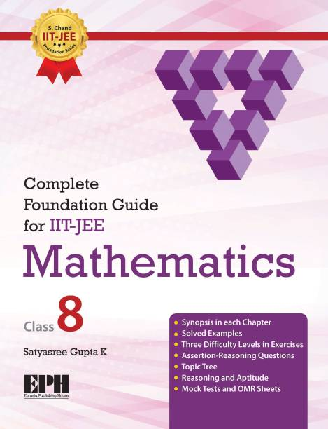 Complete Foundation Guide for IIT-JEE Mathematics Class-8