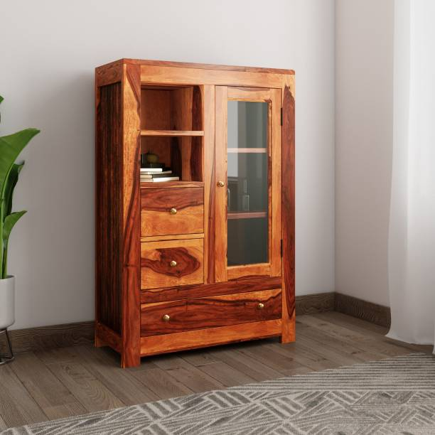 Induscraft INLBS13 Solid Wood Free Standing Cabinet