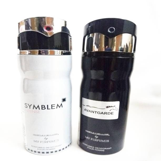 PARFUMDELUXE SYMBLEM INTENSE AND AVANTAGRDE Deodorant Spray  -  For Men