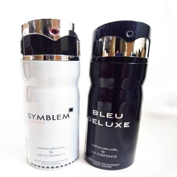 PARFUMDELUXE SYMBLEM INTENSE AND BLEU DELUXE Deodorant Spray  -  For Men