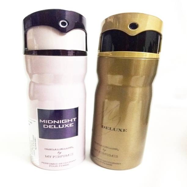 PARFUMDELUXE MIDNIGHT DELUXE AND MY DELUXE Deodorant Spray  -  For Women