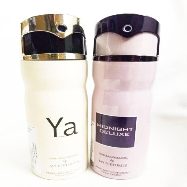 PARFUMDELUXE YA AND MIDNIGHT DELUXE Deodorant Stick  -  For Women