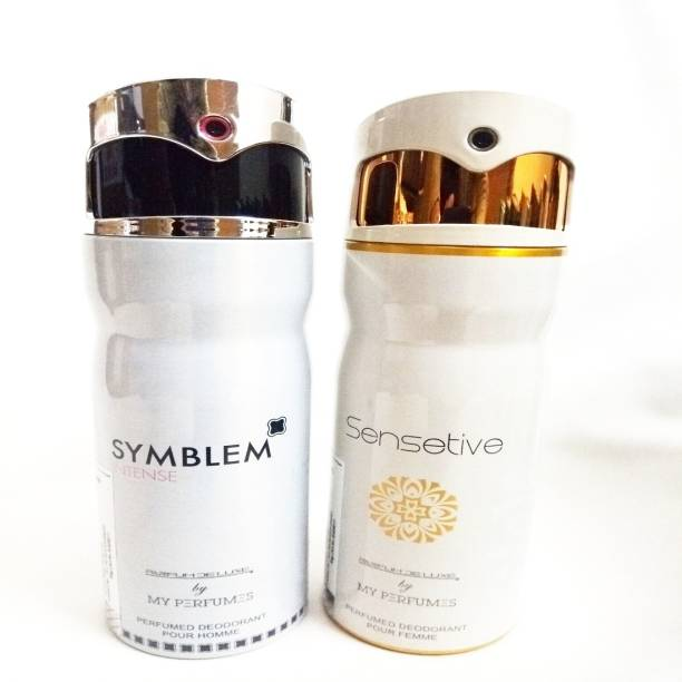 PARFUMDELUXE SYMBLEM INTENSE AND SENSETIBVE Deodorant Spray  -  For Men & Women