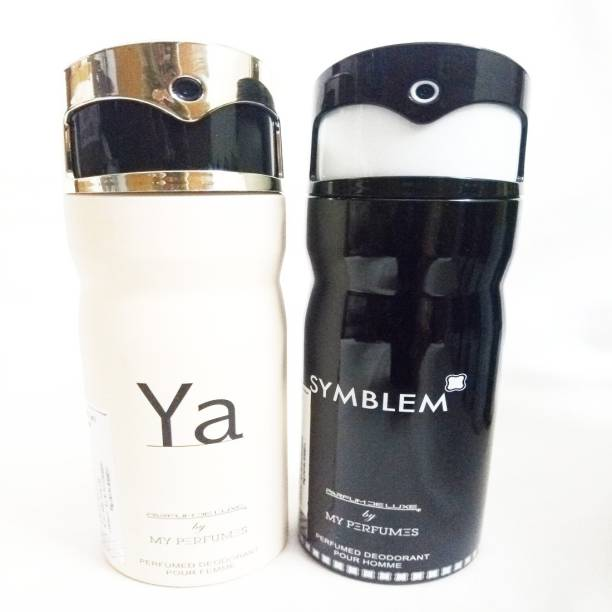 PARFUMDELUXE YA AND SYMBLEM Deodorant Spray  -  For Men & Women