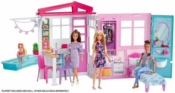 BARBIE FXG55 House W/ Doll