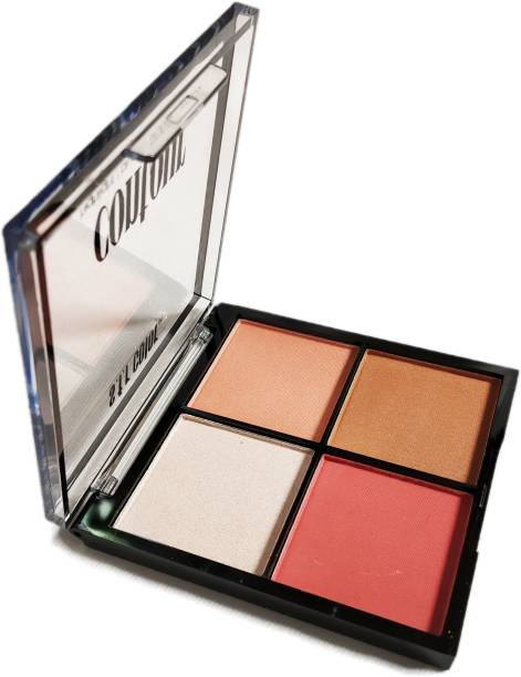 s.f.r color Highlight/blush/bronzer/contour Multicolor 6653-01 Highlighter