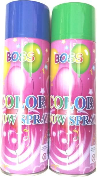 Priyankish Holi Colour Snow Spray Pack of 2 Holi Color Paste Pack of 2