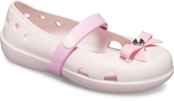 CROCS Girls Slip-on Flats