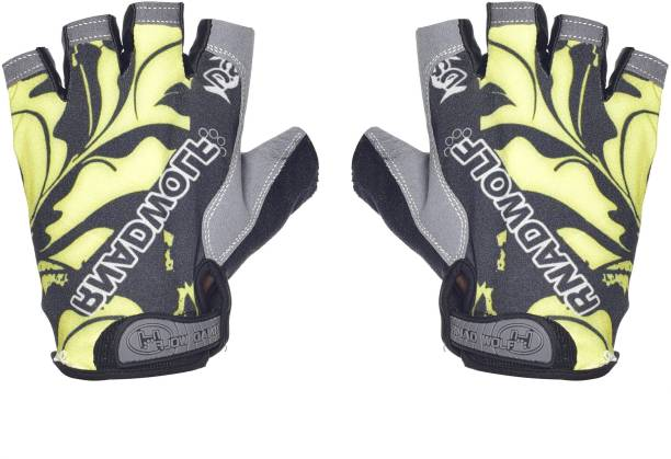 IRIS Cycling Half Finger Gel Pad Anti-Slip Breathable Outdoor Sports Shock-Absorbing Cycling Gloves