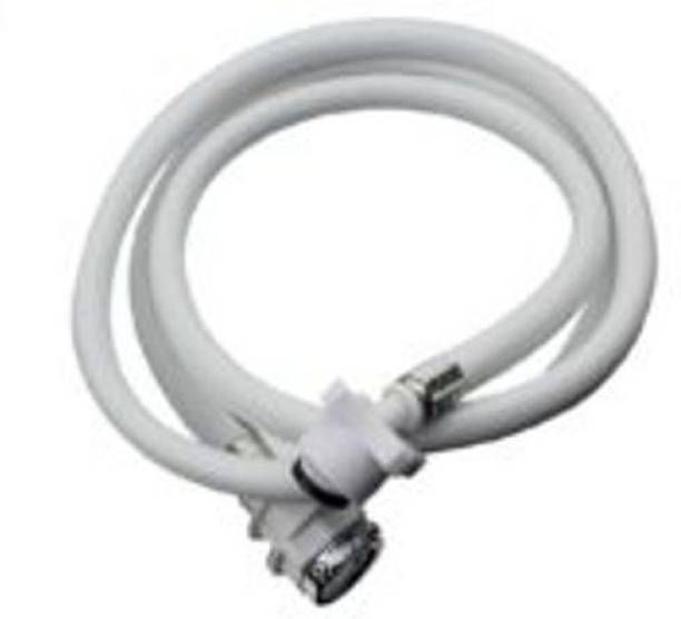 Pooja Trendz 3 METER UNIVERSAL Washing Machine Cold and Hot Water Inlet Flexible PVC Hose Pipe with Tap Adaptor. Washing Machine Inlet Hose