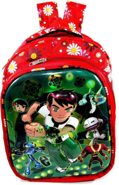 ehuntz Ben10, 5D embossed school Bag/Gift bag (4 to 9 years) (EH1588) Waterproof School Bag