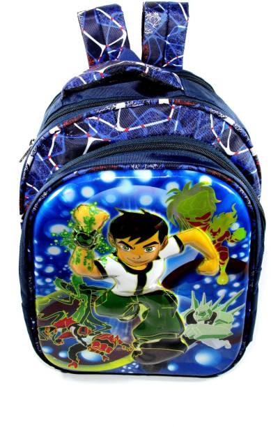 ehuntz Ben10, 5D embossed school Bag/Gift bag (4 to 9 years) (EH1586) Waterproof School Bag