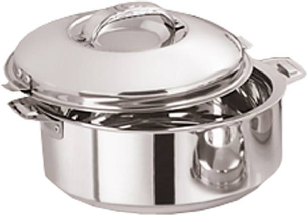 KUBER INDUSTRIES Casserole/HotPot,chapati box/chapati container/hot case in Stainless Steel 1800 ML (CAS15K16) Cook and Serve Casserole