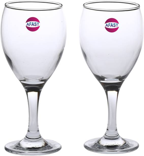 1e02a718211c Afast Bavrage Tumbler Multi Purpose Wine Glass Transparet & Self Designer  Set Of 2 Stylish Glass