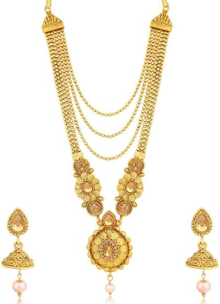 a1049a0f7 Long Necklaces - Buy Long Necklaces online at Best Prices in India ...