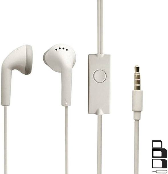 ShopReals Headphone Accessory Combo for ZTE Nubia V18, ZTE Nubia N3, ZTE Blade V9 Vita, ZTE Blade V9, ZTE Tempo Go, ZTE Blade A3, ZTE Blade A6, ZTE Maven 2, ZTE Blade Force, ZTE Tempo X, ZTE Blade A601, ZTE Grand X View 2, ZTE Blade V7 Plus, ZTE Nubia M2 Play, ZTE Blade A520, ZTE Nubia N1 lite, ZTE Blade V8 Mini, ZTE Blade V8 Lite, ZTE Blade A2 Plus, ZTE Blade V8 Earphones Original Like Headsets In-Ear Headphones Wired Stereo Bass Head Earbuds Hands-free With Mic, 3.5mm Jack