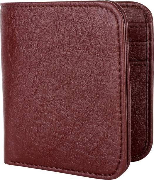 ZORO Men Casual Brown Artificial Leather Wallet
