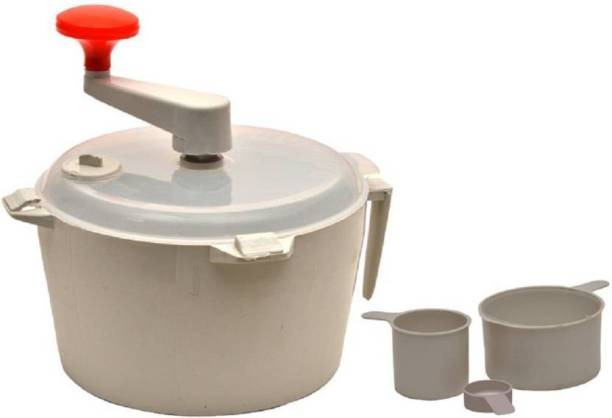 Zeom Plastic Spiral Dough Maker(White) Plastic Detachable Dough Maker