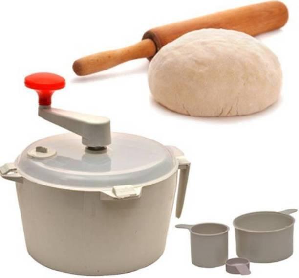 WDS Famous Plastic Detachable Dough Maker Plastic Detachable Dough Maker(Multicolor) Plastic Detachable Dough Maker