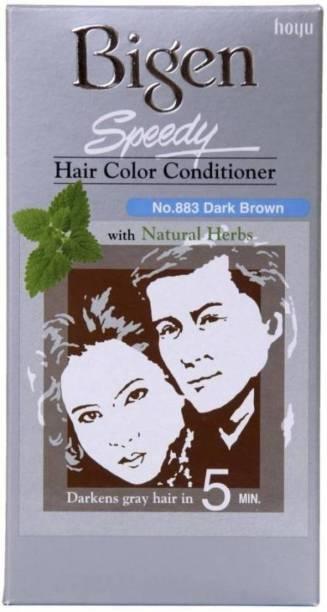 Bigen Speedy Color Hair Color (Dark Brown) NO. 883 , Dark Brown