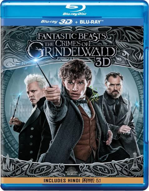 Fantastic Beast: The Crimes of Grindelwald (Blu-ray 3D + Blu-ray) (2-Disc)