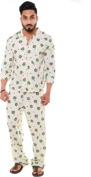 4d4a9b3a04a Night Suit for Men - Buy Mens Nightwear Online at Best Prices in ...