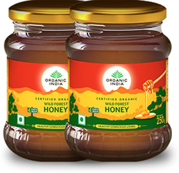 ORGANIC INDIA Honey wild Forest 250 Gm- (Pack Of 2)