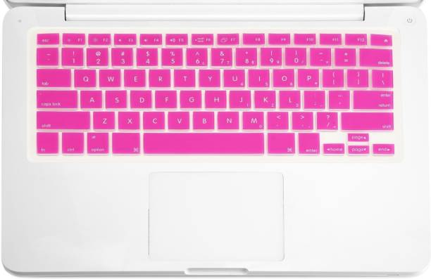 Black with Clear Saco Chiclet Keyboard Skin for HP 250 G3 Notebook