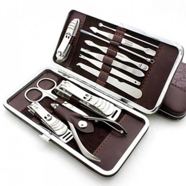 SKINPLUS 12 In 1 Professional Manicure Pedicure Kit (Set of 12)
