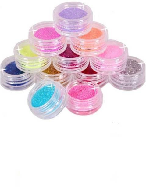 Shopfleet 12 Multicolored Mix Shade Glitter