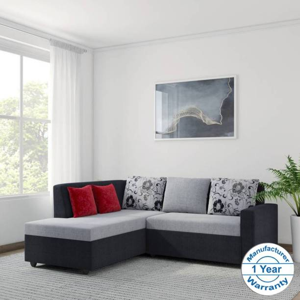 Bharat Lifestyle Nano Fabric 5 Seater  Sofa