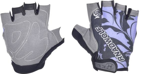 IRIS Rnadwolf Antiskid Cycling Gym Fitness Sports Breathable Wolf Head Gloves Cycling Gloves