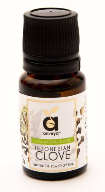 Anveya Clove Essential Oil, 15 Ml, 100% Natural & Pure For Oral Health, Skin & Hair