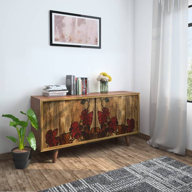 InLiving Solid Wood Free Standing Sideboard